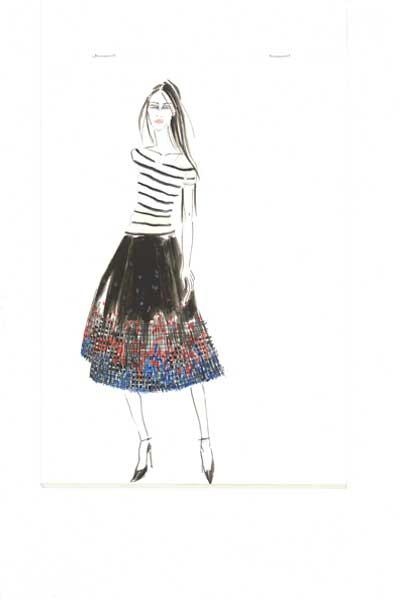 Dream Blueprints Garments sketches