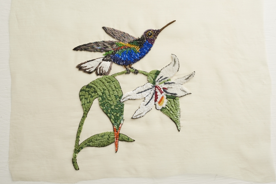 Dream Blueprints Embroidery birds