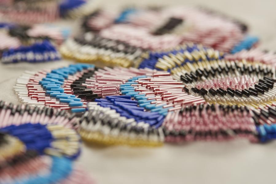 Dream Blueprints Design Studio , Hand Embroidery Atelier, zardozi, bugle beads