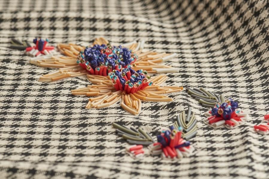 Dream Blueprints Design Studio , hand embroidery Atelier, semi couture 3d flowers