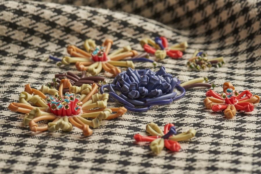Dream Blueprints Design Studio , Hand Embroidery Atelier, semi –couture, 3-d flowers