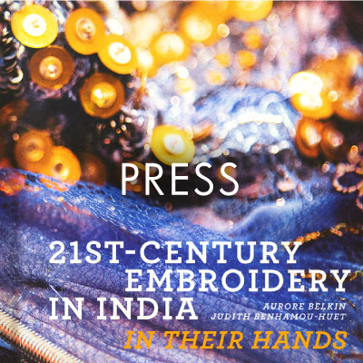 Dream Blueprints 21st- century embroidery in India